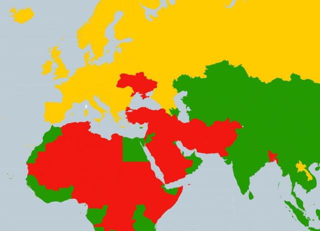Home English - Us safe travel map gov